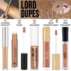 Kylie Jenner lip kit dupe Lord