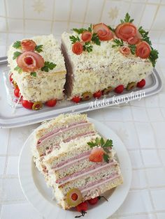 Bread Dough Recipe, Spring Party, I Party, High Tea, Baby Shower Parties, Vanilla Cake, Sandwiches, Cooking, Recipes