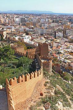 Castillo de La Alcazaba. Almería
