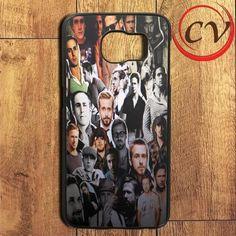 Ryan Gosling Collage Samsung Galaxy S6 Edge Plus Case