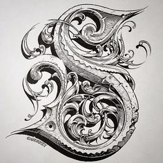 "Taking the ""S"" to a new level with this hand lettering 