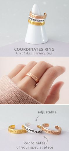 Gifts for her sister jewelry 16 trendy Ideas Bff Gifts, Best Friend Gifts, Gifts For Him, Funny Gifts, Teacher Gifts, Farewell Gifts For Friends, Coordinate Rings, Great Graduation Gifts, Graduation Presents