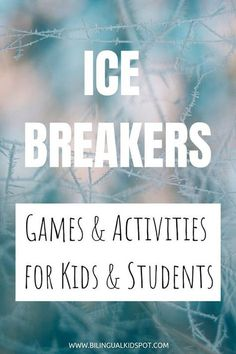 Icebreaker Games For Kids, Fun Icebreakers, Youth Games, Icebreaker Questions, Youth Ice Breaker Games, Ice Breaker Bingo, Ice Breaker Games For Kids First Day, First Day Of School Activities, Activities For Kids