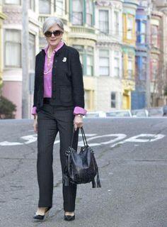 Офисная одежда для женщины 50 лет