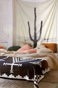 Dress Up Bare Walls With Cactus Tapestries - COWGIRL Magazine