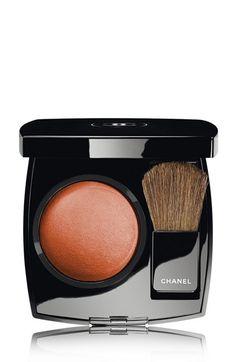 Women's CHANEL JOUES CONTRASTE Powder Blush - 89 Canaille