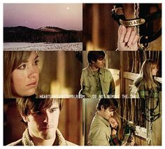 Ty: Amy. Amy: He was all I had left of her. Ty: Your mom? Amy: She died trying to save him. Now it's like he's dead, too. Ty: Hey… (he goes to hug her) It's okay.  Heartland - 2x16 - Ties That Bind