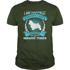 HAPPIEST WITH MY NORWICH TERRIER  T-SHIRTS TEE (==►Click To Shopping Here) #happiest #with #my #norwich #terrier # #t-shirts #Dog #Dogshirts #Dogtshirts #shirts #tshirt #hoodie #sweatshirt #fashion #style