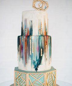 Das sind die besten Pinterest Hochzeitstorten | Entdecke die schönsten, einprägsamsten Kuchen auf Pinterest. #refinery29 http://www.refinery29.de/pinterest-hochzeits-torten