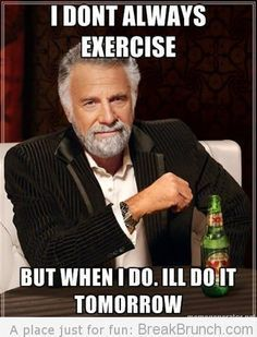 hahahaha who can relate to this? :-P #humor #fitness #funny