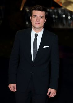 Josh Hutcherson at the premiere of The Hunger Games: Catching Fire in London.