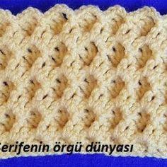 Türkçe Anlatımlı Örgü Videoları - Part 189 Crochet Patterns, Crochet Pattern, Crochet Tutorials, Crocheting Patterns, Crochet Stitches Patterns