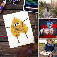 Creating Nature Art with Kids
