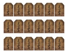 grungy tag set primitive tags craft by WhisperWillowDesignz $3.50 #printables #crafts #supplies #hangtags #tag #primitive #primtag #fall #decor