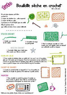 *Tadaam !: DIY / Tuto : bouillotte sèche en crochet
