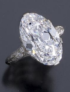 Diamond Ring… A belle époque diamond solitaire ring, circa 1915.