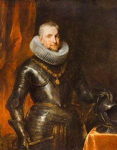 A new Van Dyck attribution at the Scottish National Gallery:  It had previously been regarded as a studio work. The portrait shows Ambrogio Spinola (1569-1630), the great Italian-born general who commanded the Spanish Habsburg armies in the Netherlands during the Dutch Revolt.