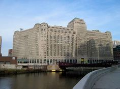 the Merchandise Mart, 4,000,000 square feet of floor space. Occupied by wholesalers and vendors consolidated under one roof. It had it's own zip code until 2008.