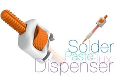 Solder paste and flux Dispenser by Perinski - Thingiverse 3d Printer Designs, 3d Printer Projects, Useful 3d Prints, 3d Printing Diy, Perpetual Motion, Mechanical Engineering, Soldering, Past, Impression 3d