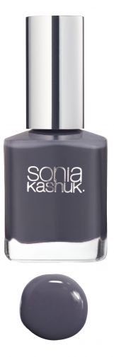 Sonia Kashuk Blank Slate Nail Colour- Gray is one of my favorite colors