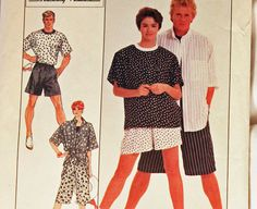 Vintage 1980s Sewing Pattern Simplicity 8561 Size X-Large