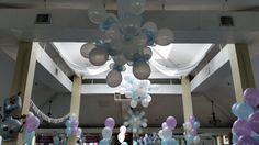 www.partyfiestadecor.com Frozen Balloon Decorations, Frozen Balloons, Alice In Wonderland Party, Party Needs, Chandelier, Ceiling Lights, Home Decor, Candelabra, Decoration Home