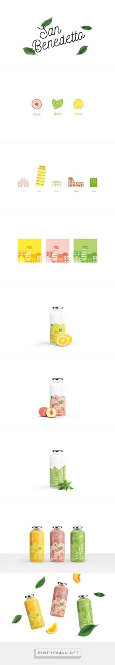 Sanbenedetto|Juice Packaging Concept Design on Behance - created via https://pinthemall.net