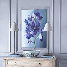 Orchid Wall Art – Stem - NEW - Wisteria