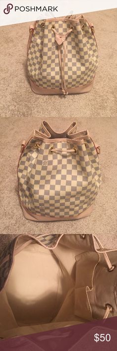 Louis Vuitton Petit Noe Was given as gift and it sits in my closet... Not yet used! Missing shoulder strap! Will accept best offer Bags Shoulder Bags