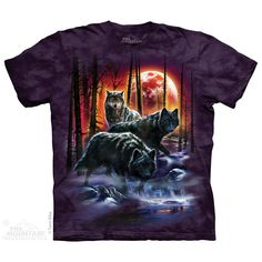 The Mountain Fire And Ice Wolves T-Shirt $22.00 Use code: NWC15 for 15% off. The Mountain T-shirts.