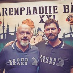 Proudbears at Hamburg Bärenpaardiie XXL 2016 wearing our exclusive rhinestone polo shirts. Get yous at Proudbears.com ---BE PROUD TO BE A BEAR--- #ProudBears #ProudBear #throwbackthursday #bearscubsandbeards #gaybear #bearpride #woof #grr #tummythursday #hamburg