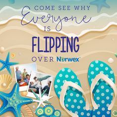Kick off your summer fun with a party sure to keep your friends flipping over Norwex!