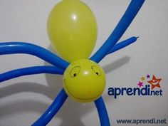 49  Escultura de Balão (Aranha de Jardim) - Balloon Sculpture (Orb Spider)