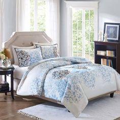 Charming Better Homes And Gardens Capri 3 Piece Reversible Comforter Bedding Set.