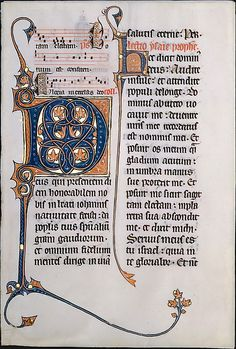 Leaf from a Missal Date: ca. 1290 Geography: Made in, Beauvais (?), France Culture: French Medium: Tempera and gold leaf on parchment Dimensions: Overall: 11 5/16 x 7 11/16 in. (28.7 x 19.5 cm) Mat size: 21 7/8 x 15 15/16 in. (55.6 x 40.5 cm) Classification: Manuscripts & Illuminations