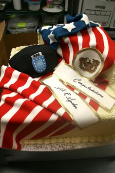 Click for more Military Cakes by The Icing - The Icing - Picasa Web Albums Army Cake, Military Cake, Military Party, Army Party, Military Gifts, Military Retirement Parties, Retirement Cakes, Retirement Ideas, Fancy Cakes