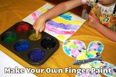 DIY Finger Paint for LAM