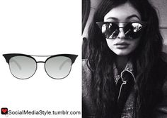 Buy Kylie Jenner's Cat-Eye Sunglasses, here!