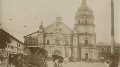 Binondo Church. Manila, Philippines Freemasonry, Interesting Photos, Filipino, Old Photos, Notre Dame, Taj Mahal, Spanish, Nostalgia, Manila Philippines