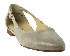 Paul Green 3254-129- Damenschuhe Top Trends, Beige, leder (sz met.), absatzhöhe: 10 mm - Ballerinas für frauen (*Partner-Link) Paul Green, Ballerinas, Partner, Trends, Beige, Metal, Heels, Link, Stuff To Buy