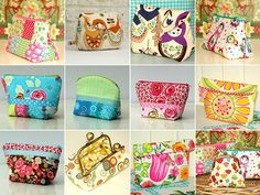 purses & pouches collage by Holland Fabric House, via Flickr