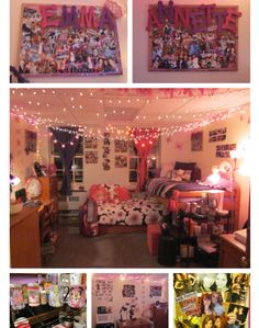 this is SUCH a cute dorm room!