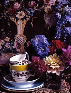 Flowers n teacups