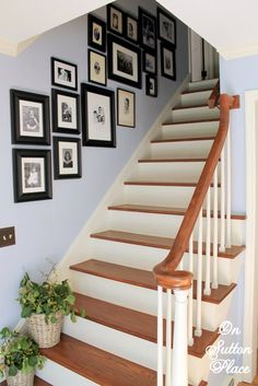 Stairway Gallery Wall ~