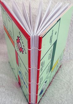 Notebook made from London Monopoly board, £12.50