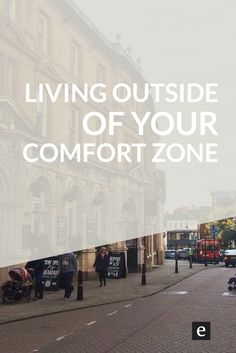 10 Lessons From Living Outside Your Comfort Zone | Travelling the world, trying new things--there's a lot to be learned from stepping outside of your comfort zone. Find out how to get creative by living outside your comfort zone.