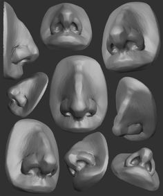 ArtStation – Sculpter le nez – Speed-lapse Speed Sculpt, Yanal Sosak – ArtStation – Sculpting The Nose – Speed-lapse Speed Sculpt, Ya… - Lombn Sites Face Anatomy, Anatomy Art, Anatomy Drawing, Sculpture Techniques, Drawing Techniques, Drawing Reference Poses, Anatomy Reference, Zbrush Anatomy, Anatomy Sculpture