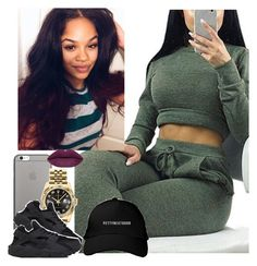 """""""✨"""" by saucinonyou999 ❤ liked on Polyvore featuring Native Union, Rolex and NIKE"""