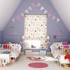 Geweldige kamer voor twee zusjes