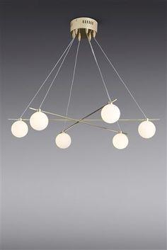 Buy Spheres 6 Light Brass Pendant from the Next UK online shop